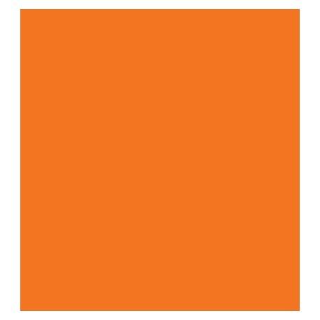 Fieltro 1mm Naranja