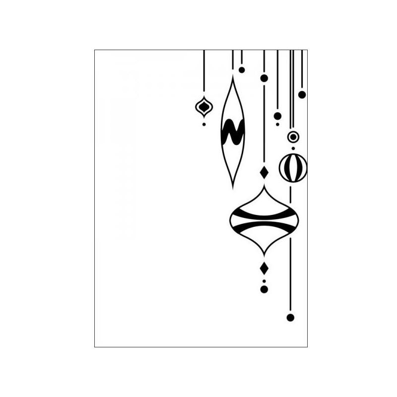 Embossing folder - Ornament