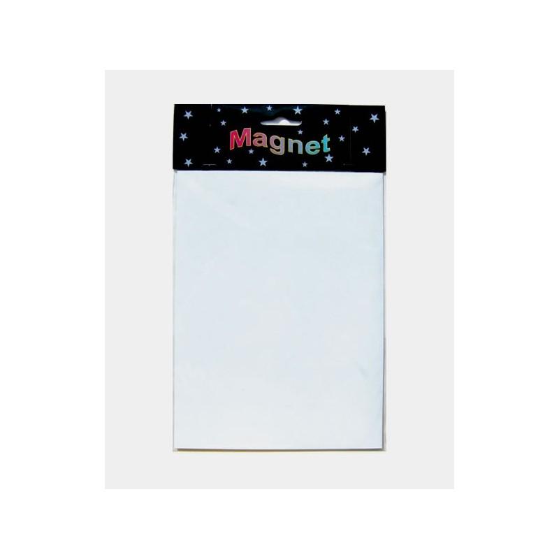 Hoja magnetica 15x20cm Blanca