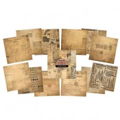 Fontastic Ephemera 15x15 Paper Pad