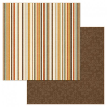 Autumn Day - Multi Stripe