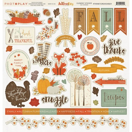 Autumn Day - Element stickers