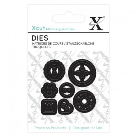 Xcut Mini Die - Buttons