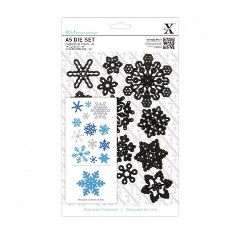 Xcut Large Die Set - Snowflakes