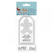 Sellos Acril Jolly Santa - Gingerbread