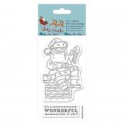 Sellos Acril Jolly Santa - Chimney
