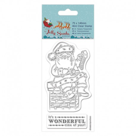 Sellos Acril Jolly Santa - Chimney