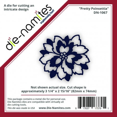 Die-Namites Pretty Poinsettia