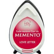Tampón de tinta Memento Dew Drop Love Letter de Tsukineko