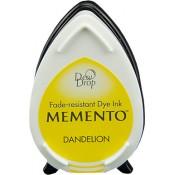Tampón de tinta Memento Dew Drop Dandelion de Tsukineko