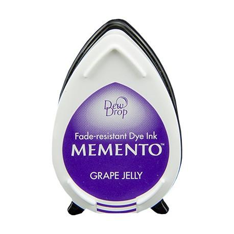 Tampón de tinta Memento Dew Drop Grape Jelly de Tsukineko