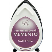 Tampón de tinta Memento Dew Drop Sweet Plum de Tsukineko