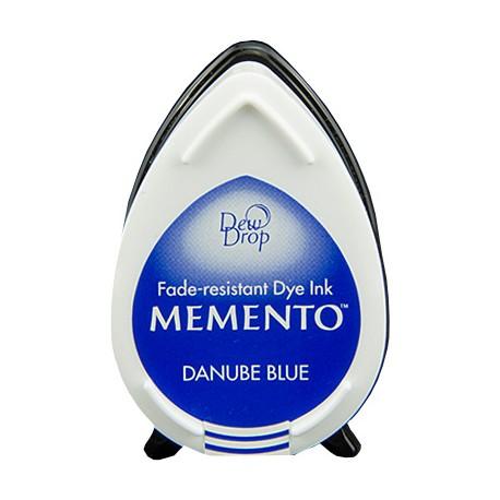 Tampón de tinta Memento Dew Drop Danube Blue de Tsukineko
