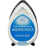 Tampón de tinta Memento Dew Drop Bahama Blue de Tsukineko