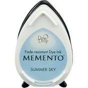 Tampón de tinta Memento Dew Drop Summer Sky de Tsukineko