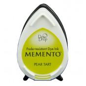 Tampón de tinta Memento Dew Drop Pear Tart de Tsukineko