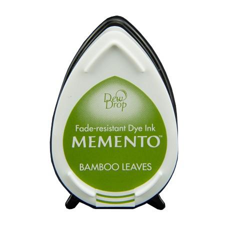 Tampón de tinta Memento Dew Drop Bamboo Leaves de Tsukineko