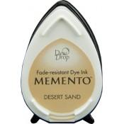 Tampón de tinta Memento Dew Drop Desert Sand de Tsukineko