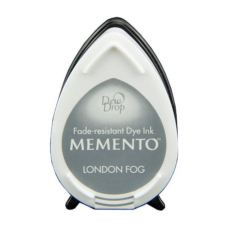 Tampón de tinta Memento Dew Drop London Fog de Tsukineko