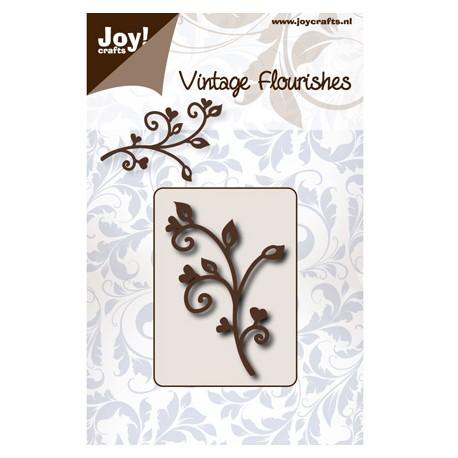 Vintage Flourishes - Tallo Corazones