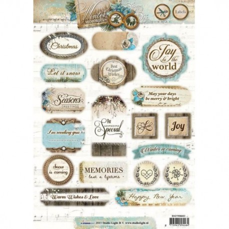 Die Cut Winter Memories