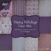 Happy Holidays Paper Pad 30x30