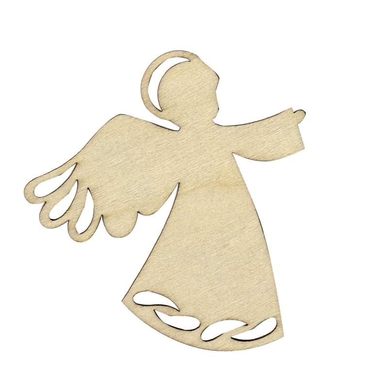 Silueta de madera angel - Siluetas madera infantiles ...