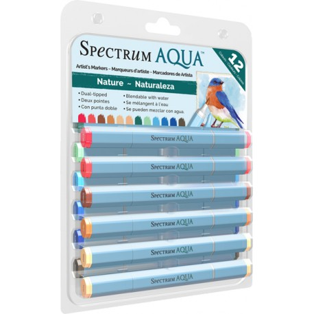 Spectrum Aqua Markers - Nature