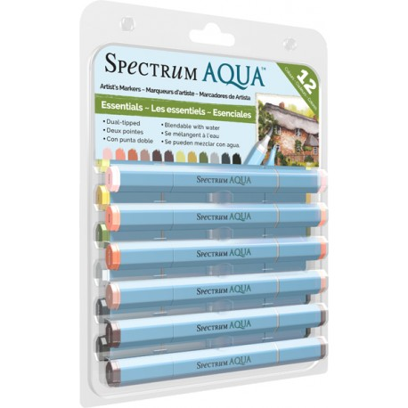 Spectrum Aqua Markers - Essentials