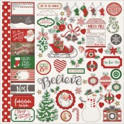 Dear Santa - Element Stickers