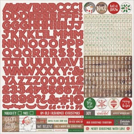 Dear Santa - Fundamentals Stickers