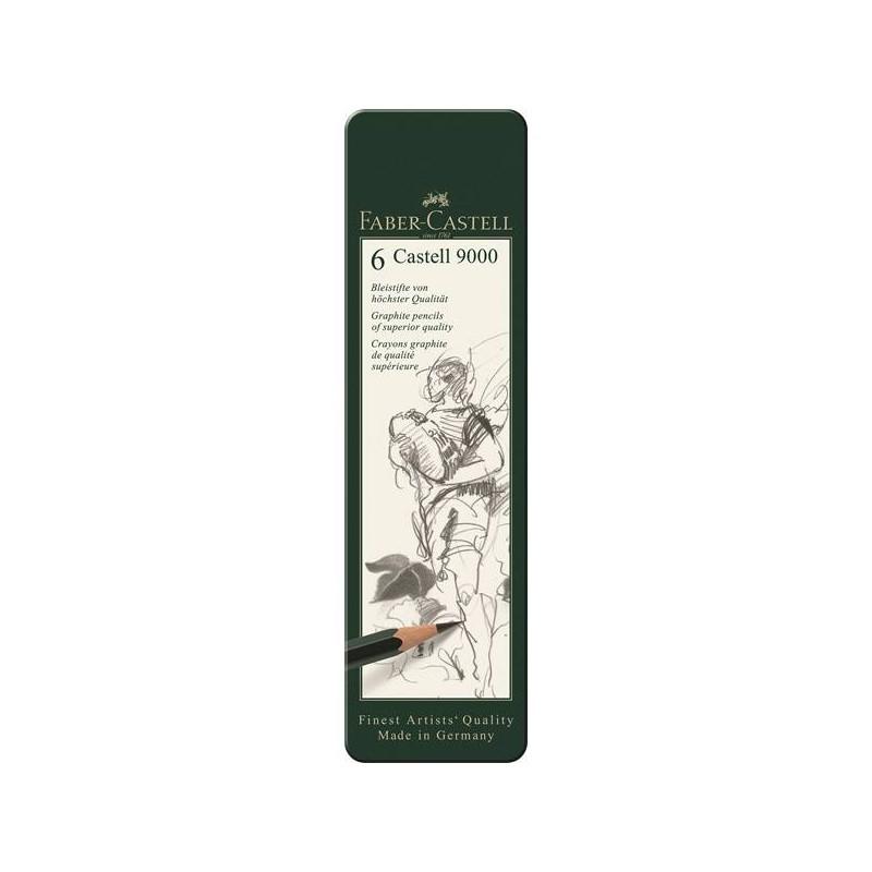 Surtido 6 Lápices Faber Castell
