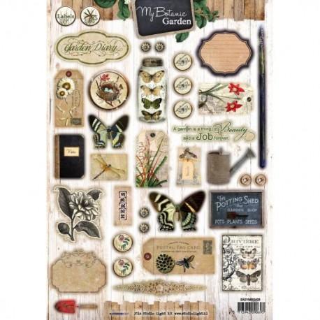Easy 3d Botanic garden Diary