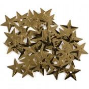 Lentejuelas Estrellas Oro