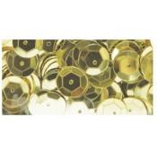 Lentejuelas Oro - 1cm