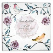 Bloom beautiful 30x30 paper pad