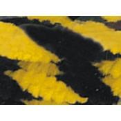 Chenillas - Negro y amarillo