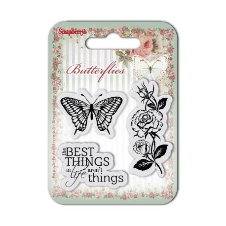 Sellos Butterflies 1